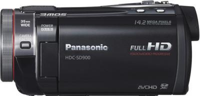 Видеокамера Panasonic HDC-SD900 - вид слева