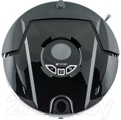 Робот-пылесос Kitfort KT-501 (черный)