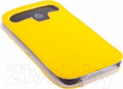 Чехол-флип Versado 4 (желтый)