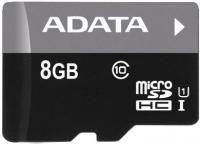 Карта памяти A-data Premier microSDHC UHS-I U1 (10 Class) 8GB (AUSDH8GUICL10-R) -