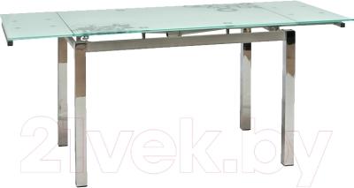 Обеденный стол Signal GD017 (белый)