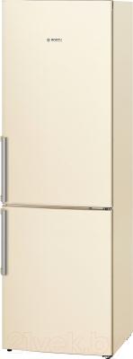 Холодильник с морозильником Bosch KGV39XK23R - общий вид