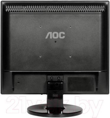 Монитор AOC E719SDA - вид сзади