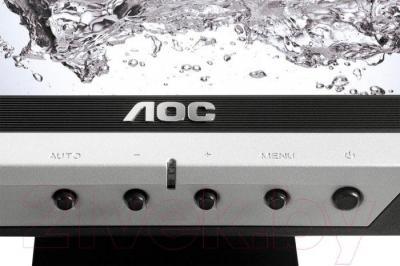 Монитор AOC E719SDA - панель управления