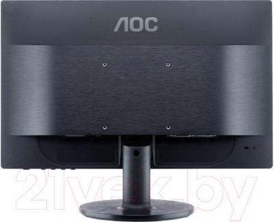 Монитор AOC E960SRDA - вид сзади