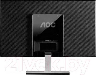 Монитор AOC I2476VW - вид сзади