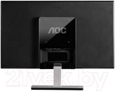 Монитор AOC I2476VWM - вид сзади