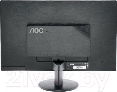 Монитор AOC M2470SWDA2 - вид сзади