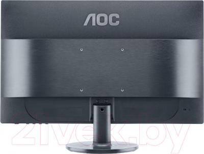 Монитор AOC E2460SH - вид сзади