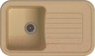 Мойка кухонная Ewigstein Antik 60F (бежевый)