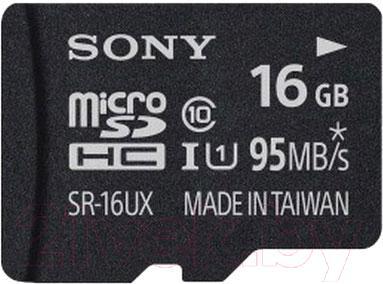 Карта памяти Sony microSDHC 16Gb UHS-1 Class 10 (SR16UXAT) - общий вид
