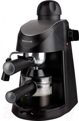 Кофеварка эспрессо Maxwell MW-1655 BK - общий вид