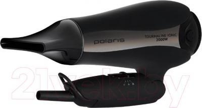 Компактный фен Polaris PHD 2080Ti (черный) - складная ручка