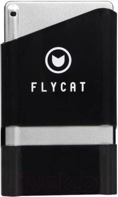 Клавиатура Flycat KB22 (черный) - вид с кейсом