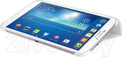 Чехол для ноутбука Samsung EF-BT310BWEGRU (белый) - использование в качестве подставки