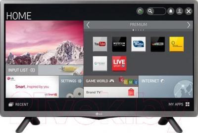 Телевизор LG 22LF491U - общий вид