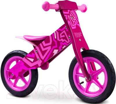 Беговел Toyz Zap (розовый) - общий вид