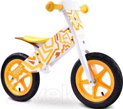 Беговел Toyz Zap (желтый) - общий вид