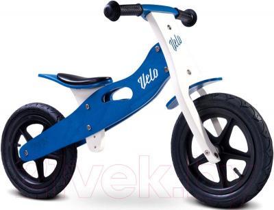 Беговел Toyz Velo (синий) - общий вид