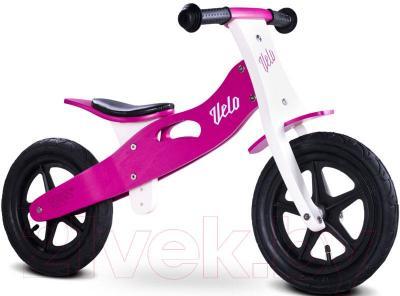 Беговел Toyz Velo (фиолетовый) - общий вид