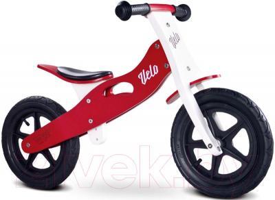 Беговел Toyz Velo (красный) - общий вид