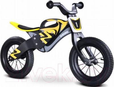 Беговел Toyz Enduro (черно-желтый) - общий вид