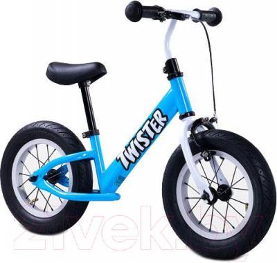 Беговел Toyz Twister (синий) - общий вид