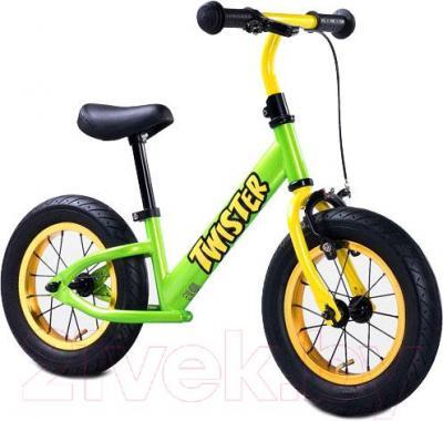 Беговел Toyz Twister (зеленый) - общий вид
