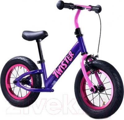 Беговел Toyz Twister (фиолетовый) - общий вид