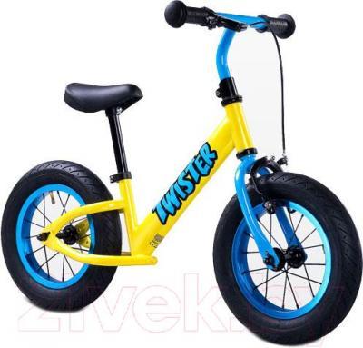 Беговел Toyz Twister (желтый) - общий вид