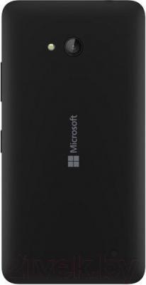 Смартфон Microsoft Lumia 640 Dual (черный) - вид сзади