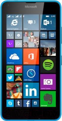 Смартфон Microsoft Lumia 640 Dual (голубой) - общий вид