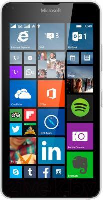 Смартфон Microsoft Lumia 640 Dual (белый) - общий вид