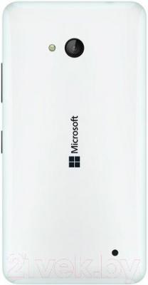 Смартфон Microsoft Lumia 640 Dual (белый) - вид сзади