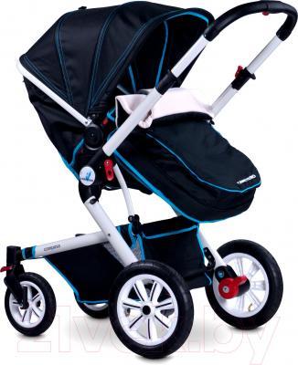 Детская универсальная коляска Caretero Compass (темно-синий) - прогулочная