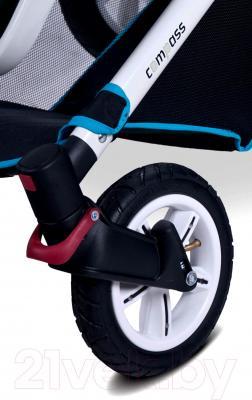 Детская универсальная коляска Caretero Compass (темно-синий) - колеса