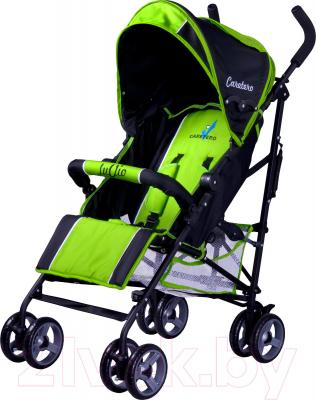 Детская прогулочная коляска Caretero Luvio (зеленый) - общий вид