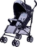 Детская прогулочная коляска Caretero Luvio (серый) -