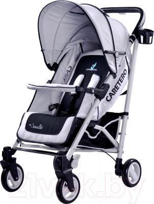 Детская прогулочная коляска Caretero Sonata (серый) - общий вид