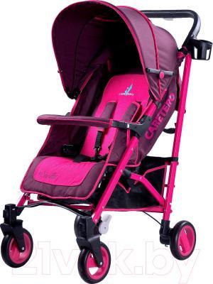 Детская прогулочная коляска Caretero Sonata (фиолетовый) - общий вид