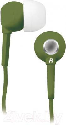 Наушники BBK EP-1200S (зеленый) - общий вид