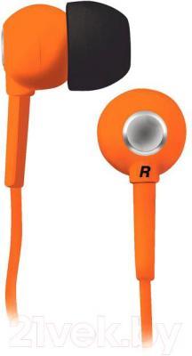 Наушники BBK EP-1200S (оранжевый) - общий вид