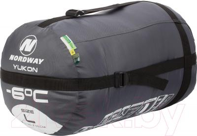 Спальный мешок Nordway Yukon N2226L (L-XL) - в сложенном виде