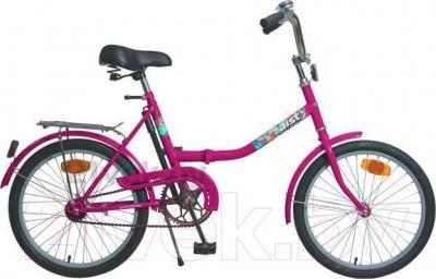 Велосипед Aist 173-334 (розовый) - общий вид
