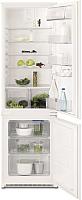Холодильник с морозильником Electrolux ENN92811BW -