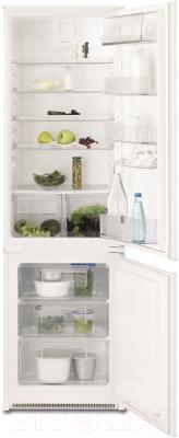 Холодильник с морозильником Electrolux ENN92811BW - общий вид