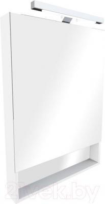 Шкаф с зеркалом для ванной Roca The Gap ZRU9302750 (белый) - общий вид