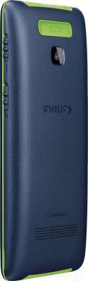 Мобильный телефон Philips Xenium E311 (темно-синий)