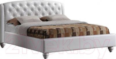 Двуспальная кровать Signal Potenza (белый)
