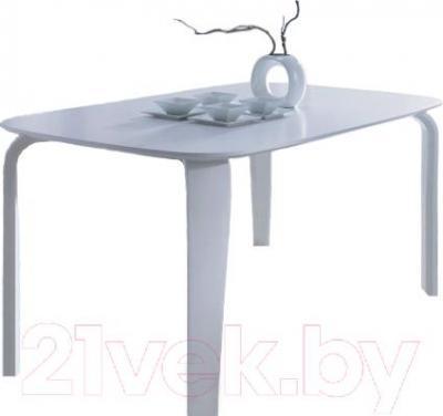 Обеденный стол Signal Mezzo 160x100 (белый)